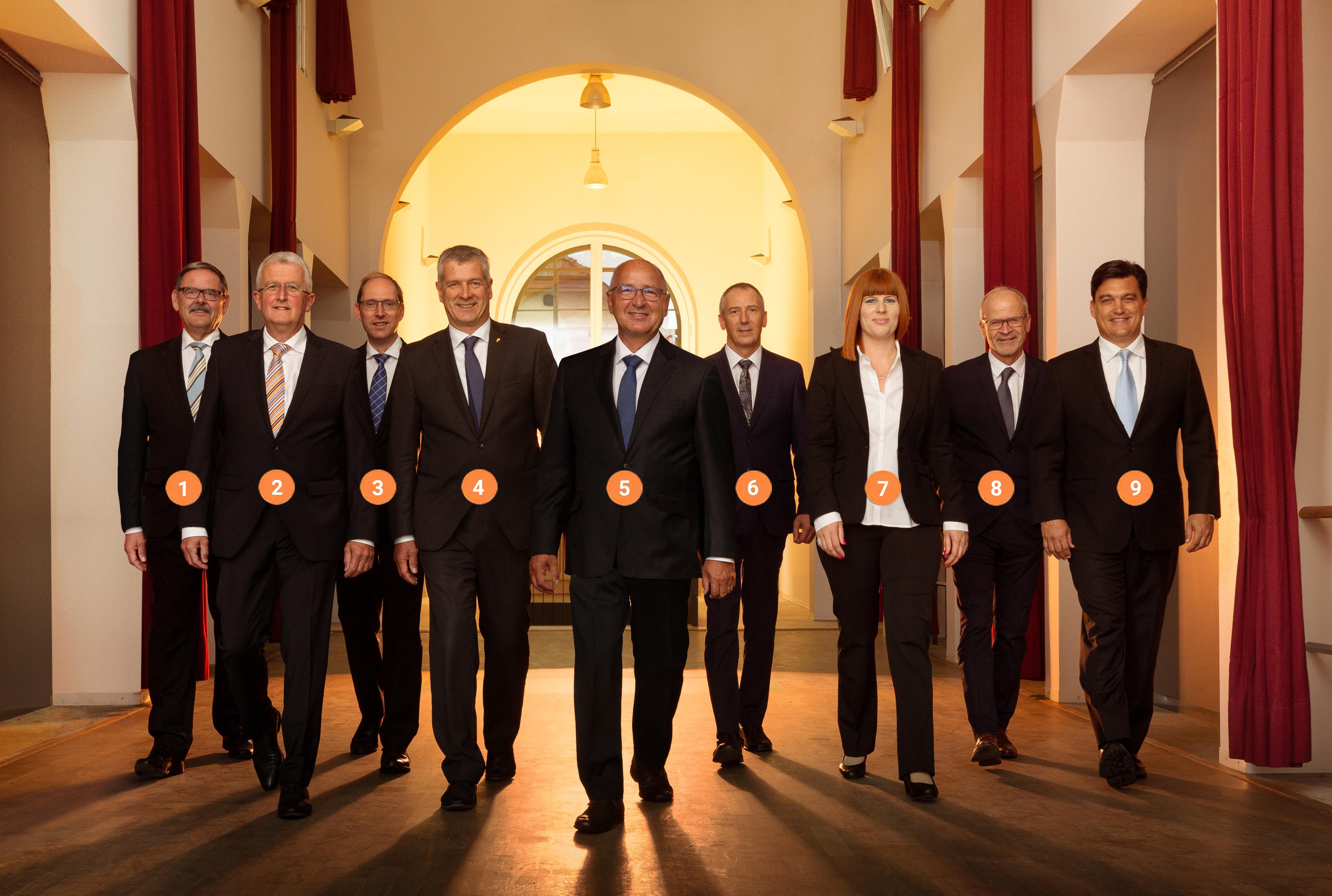 Der Verwaltungsrat: